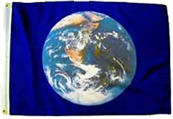 881 Earth Flag